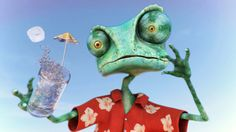 Rango Fan art work, 3d all aspects.