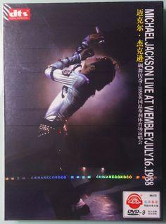 Michael Jackson - China Live At Wembley July 16 1988 DVD Picture Disc Boxset