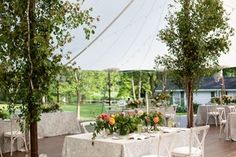 Remarkable Tented Wedding in Chicago, Illinois | 49 more photos on PartySlate