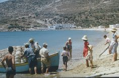Sifnos, Platis Gialos, 1970s?