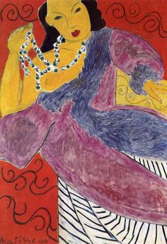 Henri Matisse - Asia, 1946 oil on canvas Kimbell Art Museum, Fort Worth, Texas, USA