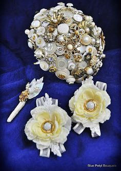 button bouquets for weddings