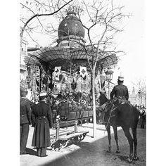 1914 JURA DE BANDERA EN ZARAGOZA. QUIOSCO EN DONDE SE DIJO LA MISA DE CAMPAÑA QUE PRECEDIO A LA JURA DE BANDERA CELEBRADA ANTEAYER: Descarga y compra fotografías históricas en   abcfoto.abc.es