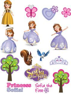 Free Printable Stickers ♥ Sofia the First ♥ Princess Sofia