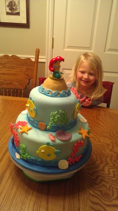 My sister-in-law offered to make my daughter's birthday cake. Pretty sure she nailed it. - Imgur