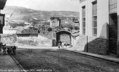 1931.Portal de Zumalacárregui. Pamplona, Portal, Mount Rushmore, Mountains, Nature, Travel, World, Old Photography, Antique Photos