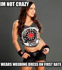 Not the best first impression. #WWE