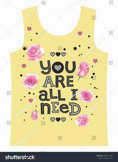 Rose Design You All Need Slogan Stok Vektör (Telifsiz) 1680517462 Baby Grill, Kids Girls Tops, Design Girl, Rose Design, Slogan, Girl Outfits, Nike, T Shirt, Shopping