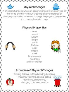 Determining physical and chemical changes is exciting, but when you dissolve cups with acetone, it becomes a challenge! Engage your students with this science activity perfect for changes with matter! science Exploring Physical and Chemical Changes Science Worksheets, Science Lessons, Science Experiments, Science Ideas, Science Activities, Science Chart, Weird Science, Preschool Science, Science Resources