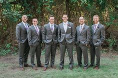 Bright & Beautiful Avalon Legacy RanchWedding. Vintage from Rent My Dust.  Photos by Jessica Gold Photography.  Amazing groomsmen with their plaid ties.  Bouts by Rlove Floral