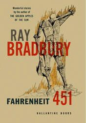 Farneheit 451, By: Ray Bradbury (A great book very interesting considering it was wrote in the 1950's and was set in around todays time, a good read for those sci-fy people)