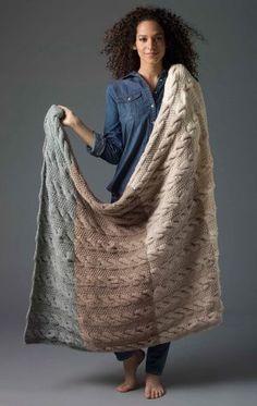 Level 2 Knit Afghan -free pattern