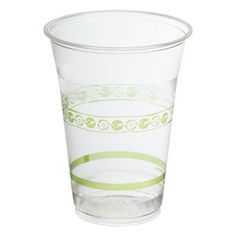 Biodegradable Cups, DISPOSABLE CUPS - 16 ounce PLA Compostable Cup