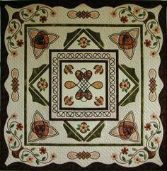 Celtic quilt made by Eva Johansen DK