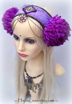 Festival Headdress by HajnaLuna