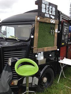 Craft Beer Van - love the taps