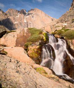 Columbine Falls, Rocky Mountain National Park, CO