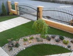 Harmónia függönyszalon added a new photo. Retaining Wall Fence, Exterior Design, Interior And Exterior, Flower Boxes, Flowers, Garden Bridge, Garden Plants, Gardening Tips, Stepping Stones