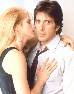 "Al Pacino & Ellen Barkin in ""Sea of Love"""
