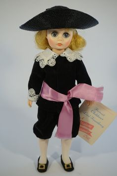 "Lord Fauntleroy doll - 1390. Made by Madame Alexander. From the Portrait Children collection. Details: - Measures about 11"" tall. - Original box and tag are included. Condition: - Part of our Estate C"