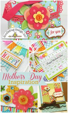 Doodlebug Design Inc Blog: Mother's Day Cards + Gift Bag Inspiration