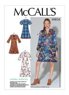 M7804 | Misses' Dresses Sewing Pattern | McCall's Patterns