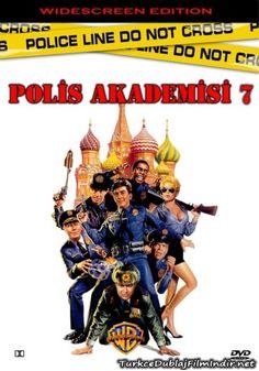 Polis Akademisi 7 - Police Academy 7 Mission To Moscow - 1994 - DVDRip Film Afis Movie Poster
