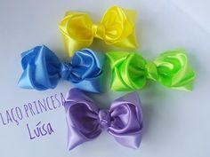 Laço Princesa Luísa - Aula 179 - YouTube