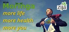 #Zija brings more to your life with #Moringa