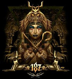 DeviantArt is the world's largest online social community for artists and art enthusiasts, allowing people to connect through the creation and sharing of art. Egyptian Goddess Tattoo, Egyptian Tattoo Sleeve, Egypt Tattoo, Egyptian Mythology, Egyptian Symbols, Egyptian Art, Ancient Egypt Art, Black Art Pictures, Tattoo Studio