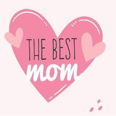 """Carte de Voeux Dématérialisée """"The Best Mom"""" Messages, Mom Quotes, Best Mom, Calm, Parfait, Key, Education, Iphone, Sweatshirts"""