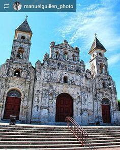 From @manuelguillen_photo: #Church #Granada #Nicaragua #ILoveGranada #AmoGranada #Travel