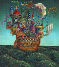 Sergey Ivchenko è nato nel 1954 a Francoforte sull'Oder, in Germania. Laureato all' Art Institute, Moscow, Russia1976 , ha lavorato in ...