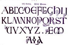 medieval alphabet - Pesquisa Google