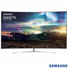 "Smart TV LED Samsung Curva 4K 65"" com HDR 1000 e 240 Hz"