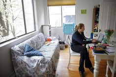 It's nice to be able to work from home once in a while, but workers wind up compensating with longer, more intense hours.
