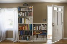 If you've remodeled, replaced or just come across some sturdy bookcases you don't need for books, hang onto them. They make great storage shelving. It takes only a few materials and about an hour or less to convert almost any bookcase into vertical storage simply by turning it on its side. All that's usually necessary is to add some small shelving in the right places, and the bookcase is fine to use for storing just about anything -- and it will still work for books.
