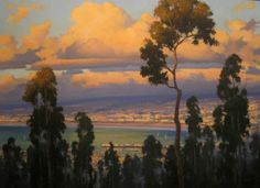 Michael Obermeyer  Evening Glow Oil on canvas