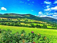 Wicklow mountains, wicklow mountains, County Wicklow, Ireland