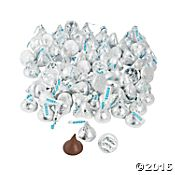 Silver Hershey's® Kisses®