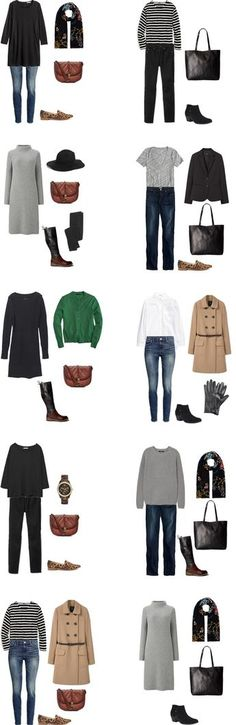 What to Wear in Germany and Austria Outfit Options 11-20 #travellight…