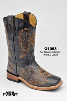 Little cowgirl square toes by corral - $99.99