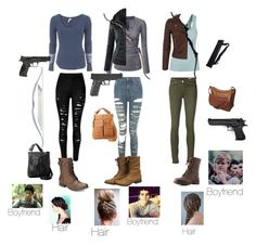 """""""The Maze Runner inspired outfits"""" by statice-pearl on Polyvore featuring Free People, rag & bone/JEAN, Topshop, Miss Selfridge, Charlotte Russe, American Rag Cie, Friedman, Ropin West, Bow & Arrow and Smith & Wesson"""