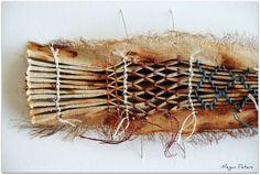 Gretchen Jones :: Blog   rust dyed and smocked fabrics