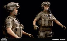 Combat Armor, 3d Model Character, Military Guns, Single Player, Badass Women, Modern Warfare, Call Of Duty, Video Game, Devil