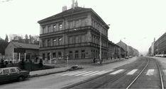 Magistrát, cast tržiště (ted je tu billa) a přechod. Czech Republic, Prague, It Cast, Street View, Historia, Bohemia