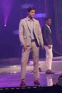 Fashion Star: Nzimiro puts the flair in tailored menswear! #FashionStar