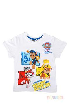 T-shirt Pat Patrouille blanc https://www.toluki.com/prod.php?id=934 #PawPatrol #enfant #Toluki