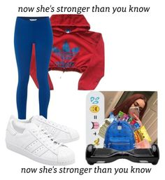 """""""New Thang"""" by robiinn-babyy-gurl ❤ liked on Polyvore featuring White Stuff and adidas Originals"""