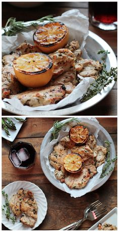 Grilled Lemon Herb Chicken Recipe